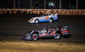 Ricky Weiss and Kyle Strickler Race Side-by-Side