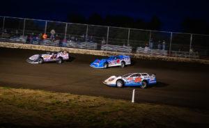 Sheppard, Strickler and Madden Battle for position