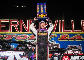 Brandon Overton wins the Firecracker 100