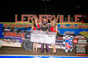 Brandon Overton wins at Lernerville