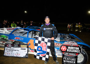 Dave Hess wins at Stateline