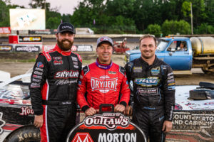 Top 3 at Plymouth Speedway