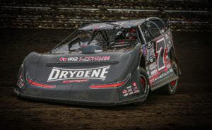 Ricky Weiss races at Jackson Motorplex
