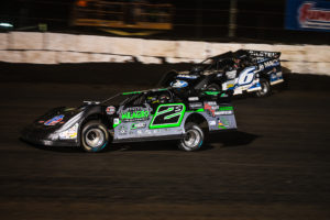 Stormy Scott passes Kyle Larson