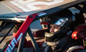 Pierce prepares to race at Farmer City