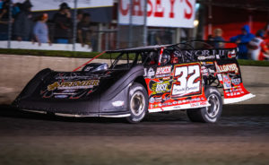 Bobby Pierce races at Boone