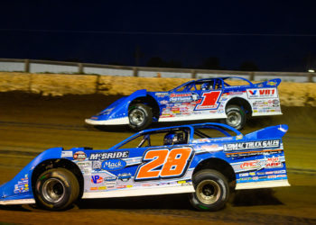 Dennis Erb Jr. and Brandon Sheppard Race side-by-side
