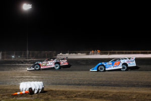 Pierce and Moran battle for second
