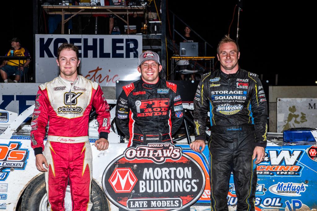 Davenport Speedway Top 3