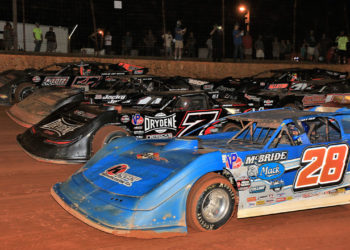 4 Wide at Lavonia Speedway