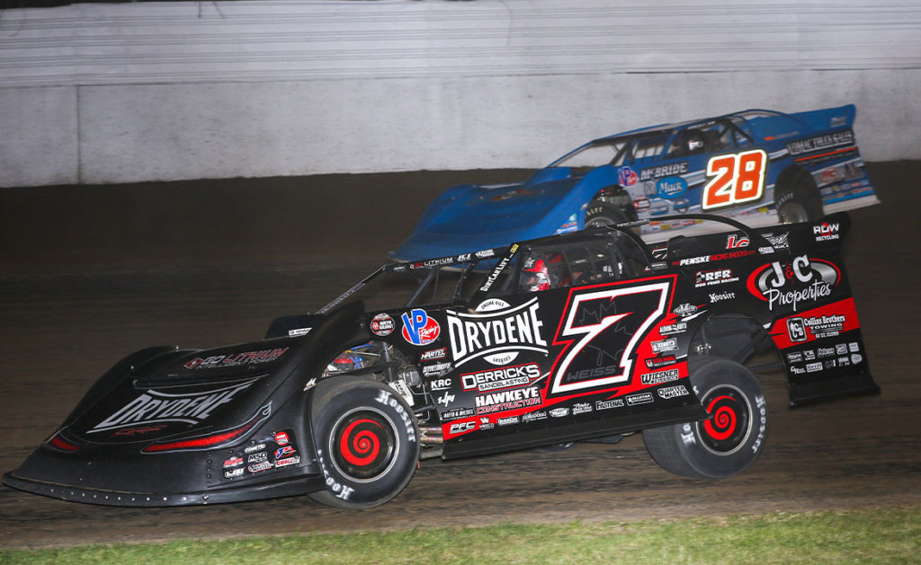 World of Outlaws Late Models return to Iowa