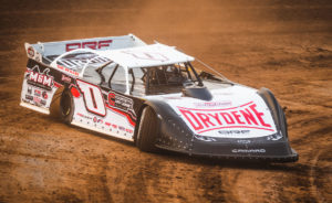 Eckert races at Outagamie Speedway