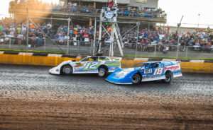 Ashton Winger beats Chase Junghans to the line at Cedar Lake