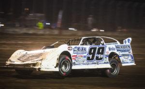 Boom Briggs races at Davenport