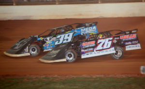 Overton and McCreadie race at Charlotte